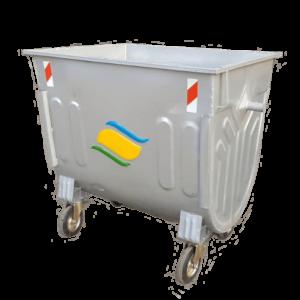 مخزن زباله محدب 770 لیتری مکانیزه