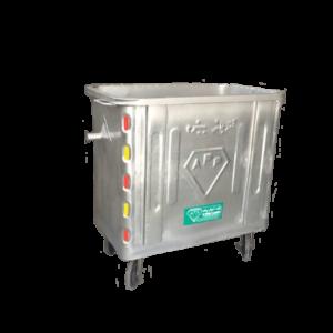 مخزن زباله مکعب 770 لیتری مکانیزه